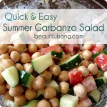 Quick & Easy: Garbanzo Salad