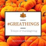 Kicking off GreaThings 2015