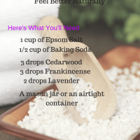 Suffering with Nasal Congestion? Try this Sinus Blend Bath Salt