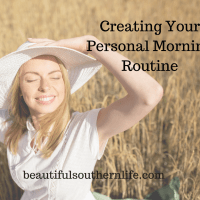 Creating Your Personal Morning Ritual
