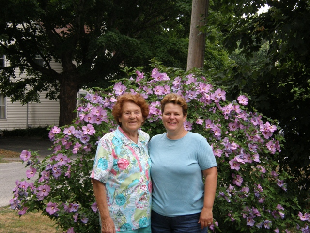 Mother and Pauline