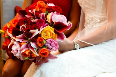 √Best Tampa Wedding Florist Northside Florist - Red, Tropical Wedding Bouquets