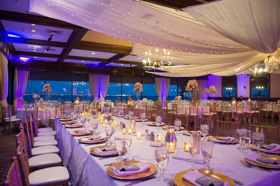 Northside Florist Blush Rusty Pelican Tampa Wedding