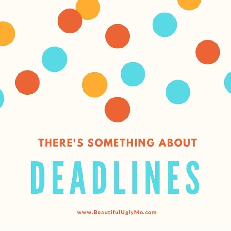 Deadlines Social Media