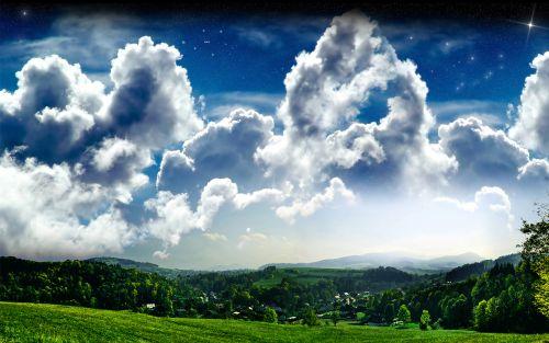 opeen sky