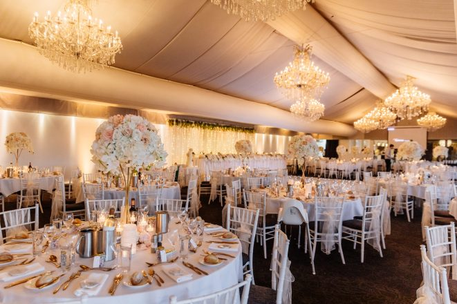round gold stands toppers vic park marquee