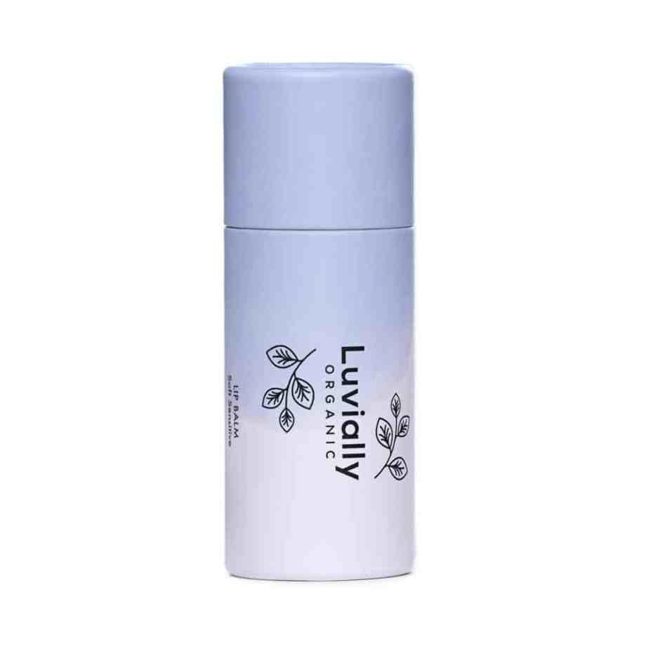 Luvially Organic Lip Balm Soft Sensitive -luonnollinen huulivoide