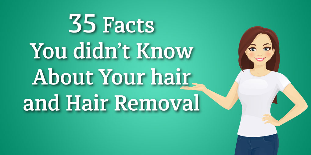 hair removal facts infographic