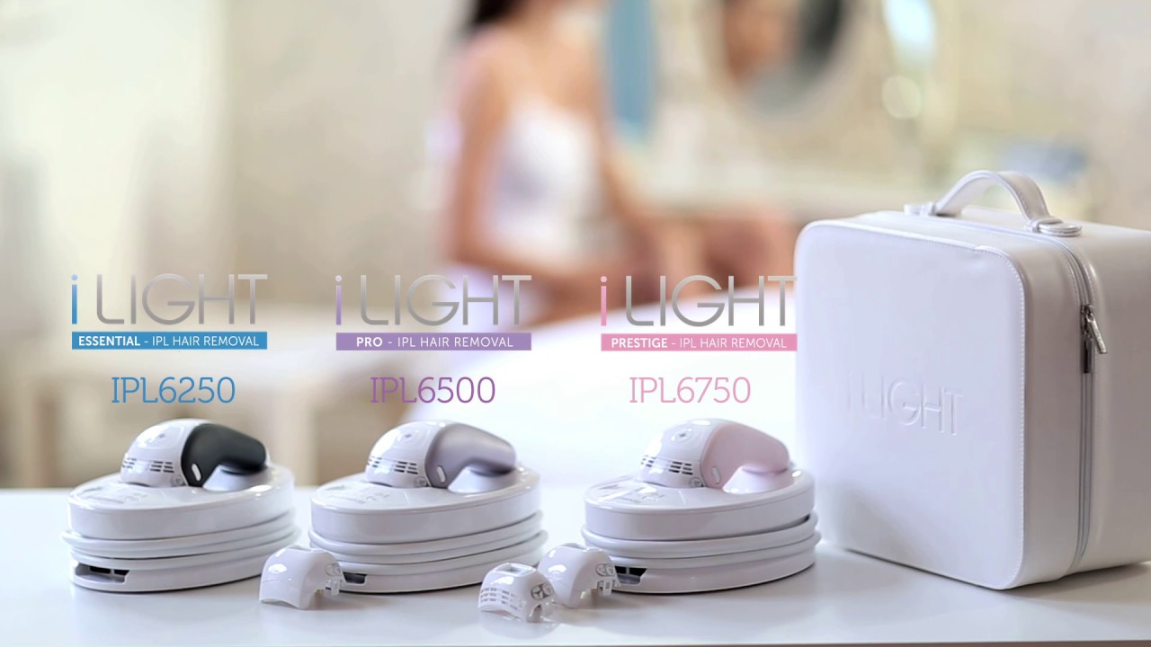 Remington ilight hair removal device