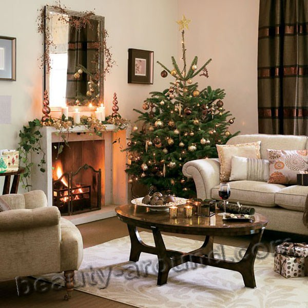 New Year   Christmas home design  30 photos  New Year and Christmas design  interior design  home decor  Christmas tree   decorations