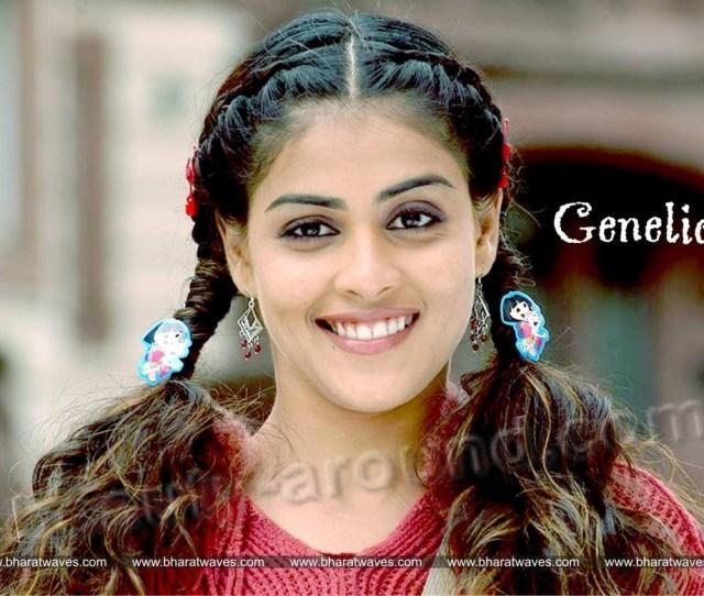 Beautiful South Indian Actresses Genelia Dsouza