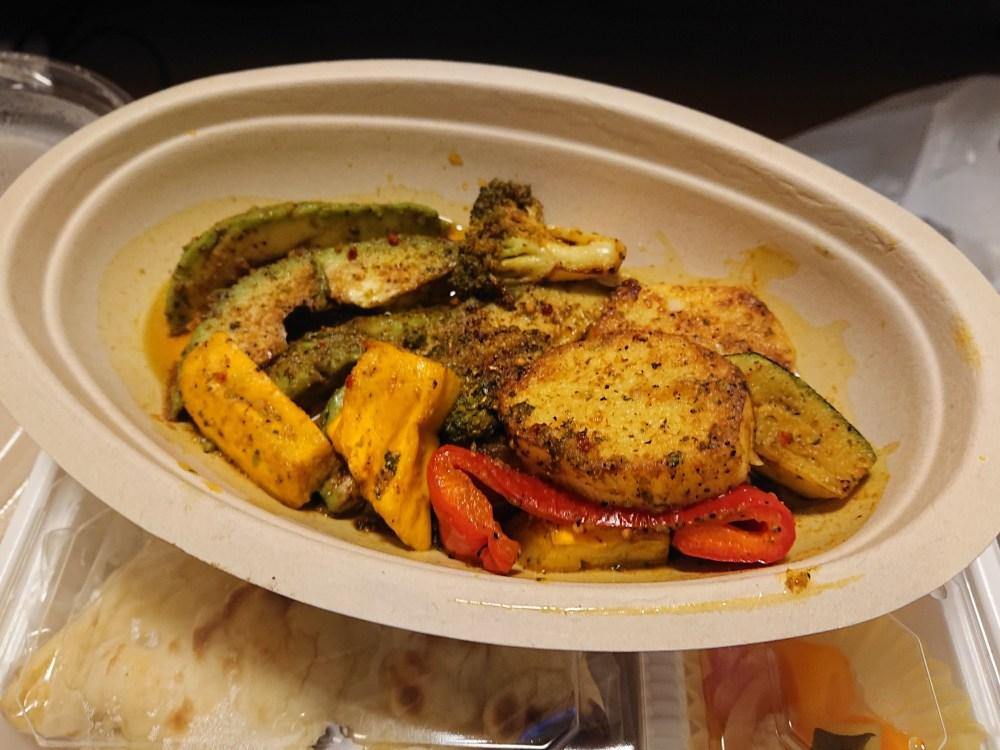 ガラ焼き野菜