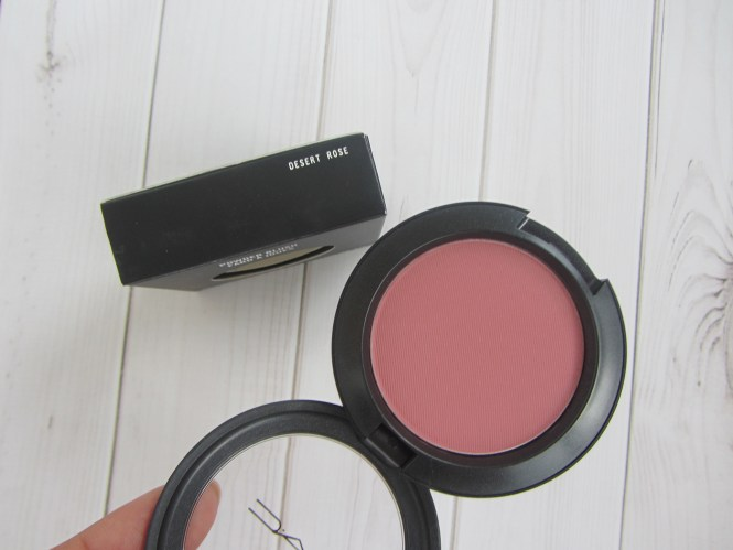 mac desert rose blush