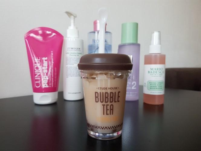 etude house bubble tea mask