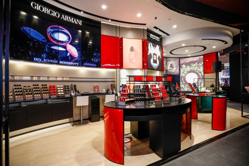 Giorgio Armani Beauty Singapore Tang Plaza