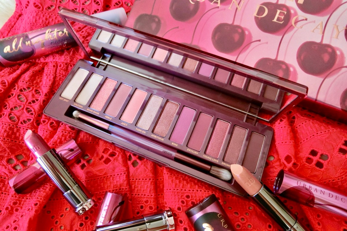 Home The Beauty Gazette Jill Lip Matte 01 Red Cherry Urban Decay Naked Palette By