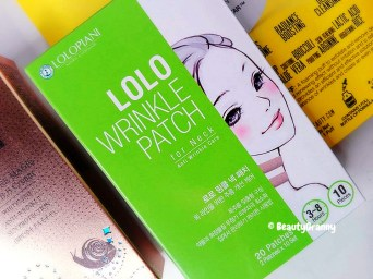 LOLO WRINKLE PATCH for Neck отзыв