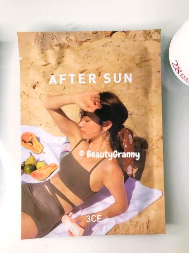 3CE After Sun Soothing Mask отзыв_