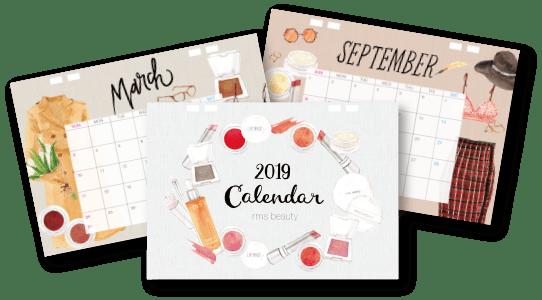 rmsbeauty オリジナルカレンダー
