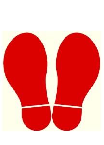 足形シート