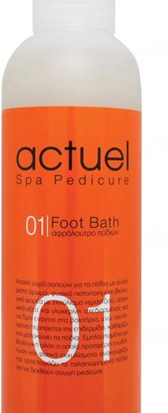 01 ACTUEL SPA FOOT BATH 250ml