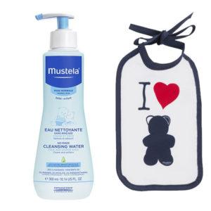 Mustela Set Bavețică + Apă de curățare fără clătire 300ml