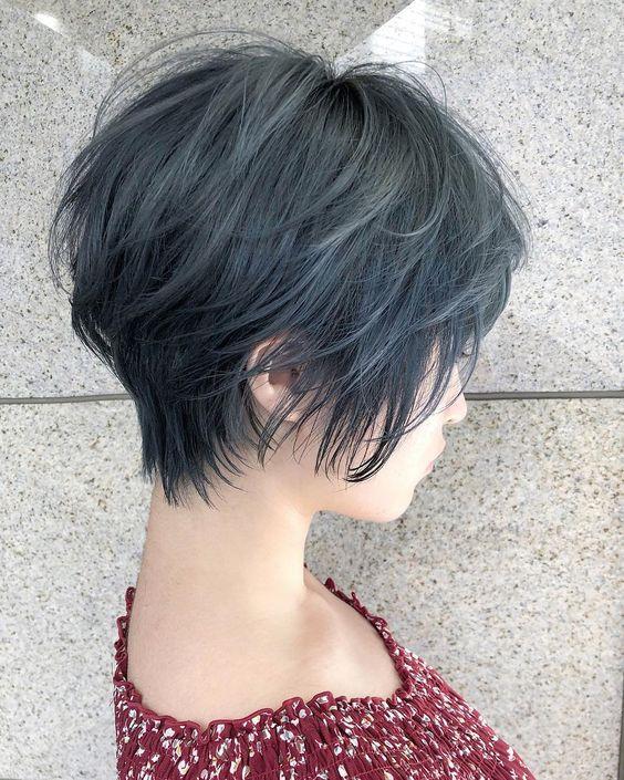 即使是深色調的灰藍色染髮也能充滿透明感!人氣的灰藍色髮色徹底調查! | BU UP -Beauty Upgrade-