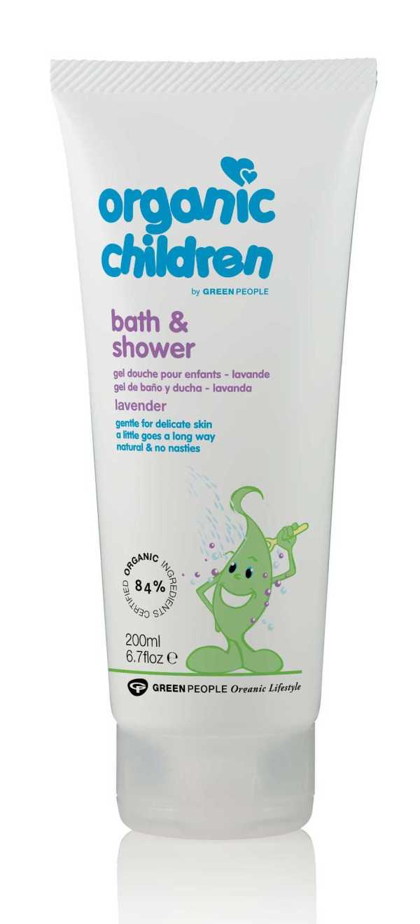 Green People Organic Children Bath & Shower Lavender Burst 200ml
