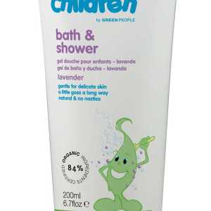 Green People Organic Children Bath & Shower Lavender Burst 200ml