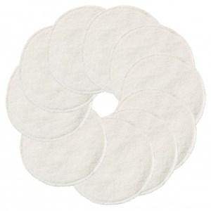 ImseVimse wasbare wattenschijfjes - 10 stuks (Kleur: Wit)