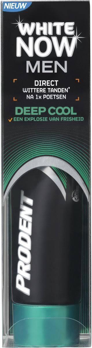 Prodent Whitening Tandpasta - White Now Deep Cool Men 75 ml.
