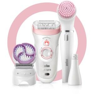 Braun Silk-épil 9-975 SensoSmart Beauty Set 9 epilator incl. Braun FaceSpa