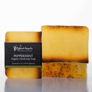 Highland Soap Co. Zeep Pepermunt 140g, bio