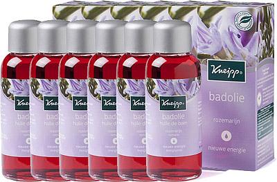 Kneipp Badolie Rozemarijn Voordeelverpakking 6x100ml
