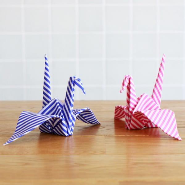折り紙の様なメガネふき