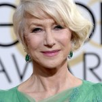 BEVERLY HILLS, CA - JANUARY 12:  71st ANNUAL GOLDEN GLOBE AWARDS -- Pictured: Actress Dame Helen Mirren arrives to the 71st Annual Golden Globe Awards held at the Beverly Hilton Hotel on January 12, 2014 --  (Photo by Kevork Djansezian/NBC/NBC via Getty Images)
