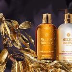 英国王室ご用達ブランド「モルトンブラウン」(花王グループ)より、クリスマスシーズンにふさわしいゴージャスでラグジュアリ―な『ウード・アコード&ゴールドコレクション』新発売