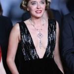 ブルガリのハイジュエリーを纏いヴァレリア・ゴリノがカンヌ国際映画祭プレミアに登場