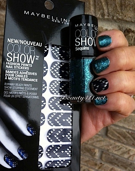 Maybelline New York Color Show Fashion Prints Nail Stickers