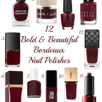 Bold and Beautiful: The Best Bordeaux Nail Polishes!