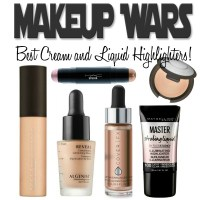 Best Cream and Liquid Highlighters!