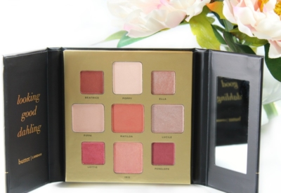 The butter LONDON Teddy Girl Palette is all about rose gold goodness! (review)