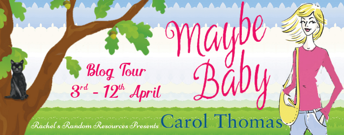 Maybe Baby Blog Tour Banner