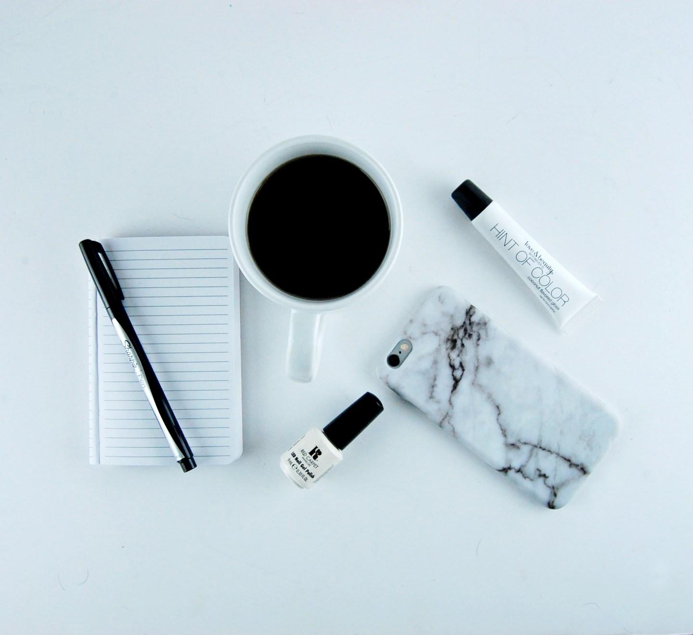 White Desk Accessories