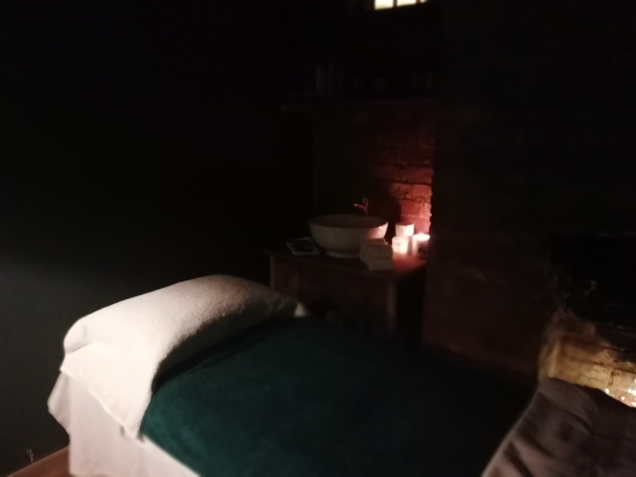 Treatment Room at Root of the Earth Spa