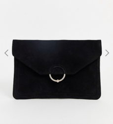 ASOS Black Clutch Bag
