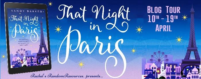 That Night in Paris Blog Tour Banner