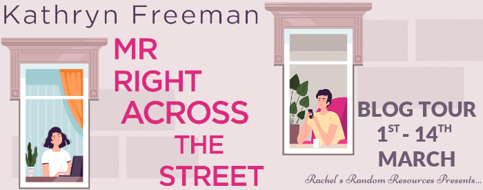 Mr Right Across the Street Blog Tour Banner