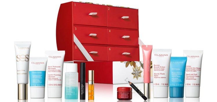 Clarins 12 Days of Christmas Calendar 2019