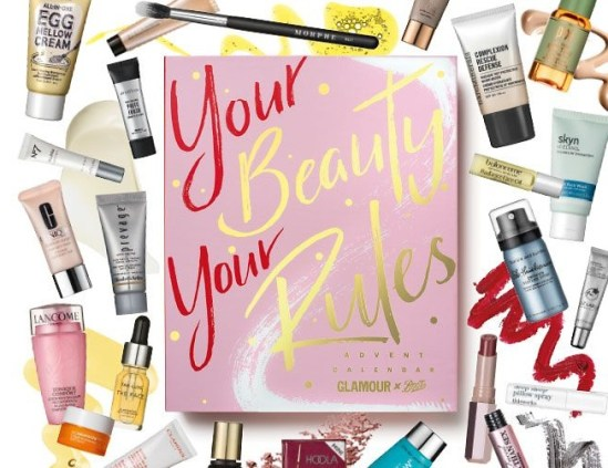 Glamour x Boots Advent Calendar 2019 – AVAILABLE NOW!